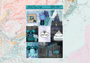 Ghost Host Deluxe kit | Standard Vertical Planner Stickers