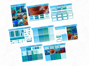 Under the sea Deluxe kit | EC Planner Stickers