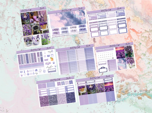 US RTS Lavender Deluxe kit | EC Planner Stickers