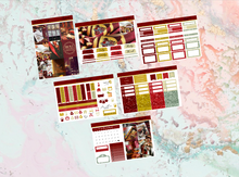 Load image into Gallery viewer, Gryffindor Mini kit | EC Planner Stickers