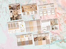 Load image into Gallery viewer, Morning coffee Deluxe kit | Standard Vertical Planner Stickers