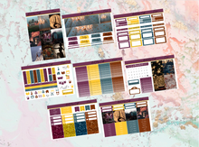 Load image into Gallery viewer, Circus Deluxe kit | Standard Vertical Planner Stickers