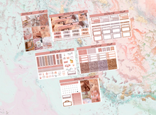 Load image into Gallery viewer, Rose gold Mini kit | Standard Vertical Planner Stickers
