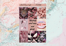 Load image into Gallery viewer, Pink babe Mini kit | Standard Vertical Planner Stickers