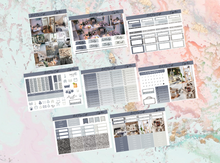 Load image into Gallery viewer, Cozy home Deluxe kit | Standard Vertical Planner Stickers