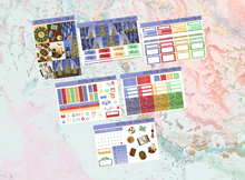 Load image into Gallery viewer, Christmas at Hogwards Mini kit | Standard Vertical Planner Stickers