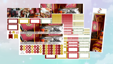 Gryffindor Monthly kit | EC Planner Stickers