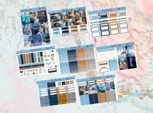 Load image into Gallery viewer, Coffee winter Deluxe kit | Standard Vertical Planner Stickers