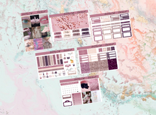 Load image into Gallery viewer, Pink whimsical Mini kit | Standard Vertical Planner Stickers