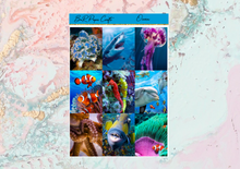 Load image into Gallery viewer, US RTS Ocean Deluxe kit | Standard Vertical Planner Stickers