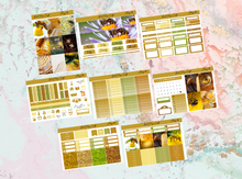 Load image into Gallery viewer, Honey bee Deluxe kit | Standard Vertical Planner Stickers