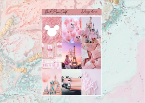 Disney dream FULL BOXES only | Standard Vertical Planner Stickers