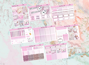 Marie Deluxe kit | Standard Vertical Planner Stickers