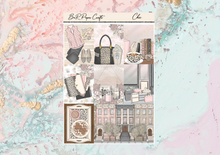 Load image into Gallery viewer, Chic Deluxe kit | Standard Vertical Planner Stickers