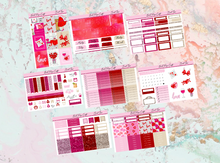 Load image into Gallery viewer, Sweet Love Deluxe kit | Standard Vertical Planner Stickers