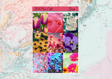Load image into Gallery viewer, Spring Mini kit | Standard Vertical Planner Stickers