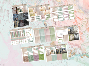 Bridal woods Deluxe kit | Standard Vertical Planner Stickers