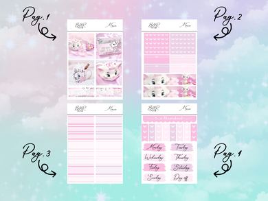 Marie PP Weeks kit | EC Planner Stickers