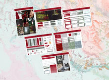 Load image into Gallery viewer, Red Mini kit | EC Planner Stickers