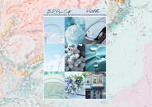 Load image into Gallery viewer, Pastel Blue Deluxe kit | Standard Vertical Planner Stickers