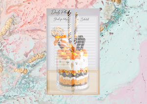 Daily Notepad | EC Planner Stickers | Notepad