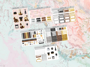 Lux Mini kit | Standard Vertical Planner Stickers