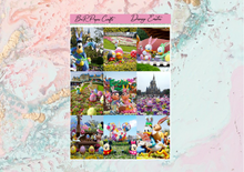 Load image into Gallery viewer, Disney Easter Deluxe kit | Standard Vertical Planner Stickers