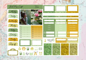 Tiana Micro kit | EC Planner Stickers