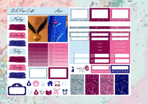Anna Micro kit | Standard Vertical Planner Stickers
