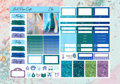 Elsa Micro kit | EC Planner Stickers