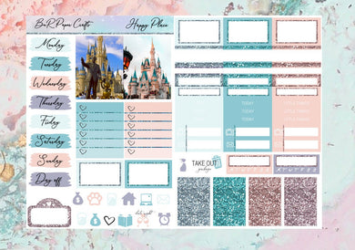 Happy Place Micro kit | EC Planner Stickers