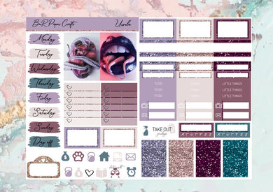 Ursula Micro kit | EC Planner Stickers