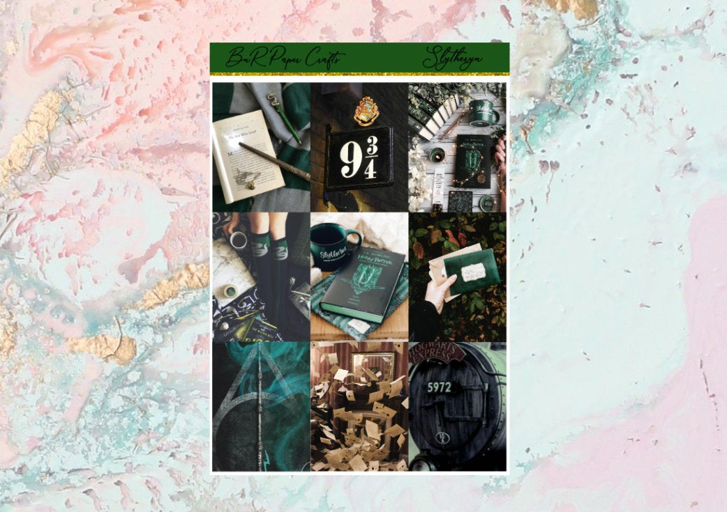 Slytheryn Mini kit | EC Planner Stickers