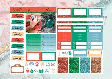 Moana Micro kit | EC Planner Stickers