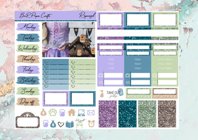 Rapunzel Micro kit | EC Planner Stickers