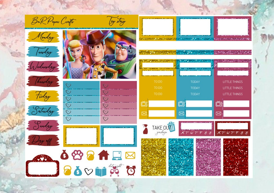 Toy Story Micro kit | EC Planner Stickers