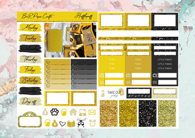 Hufflepuff Micro kit | EC Planner Stickers