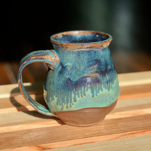 Shoreline (2) - Kiln Fired by Kelly Handmade Mug