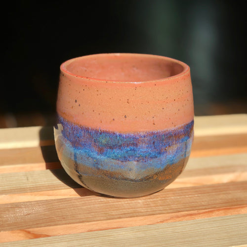 Dusk to Dawn Planter- Kiln Fired by Kelly Handmade Planter
