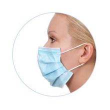 Load image into Gallery viewer, Disposable Medical Face Masks (non-sterile)