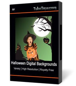 Halloween Digital Backgrounds - Download