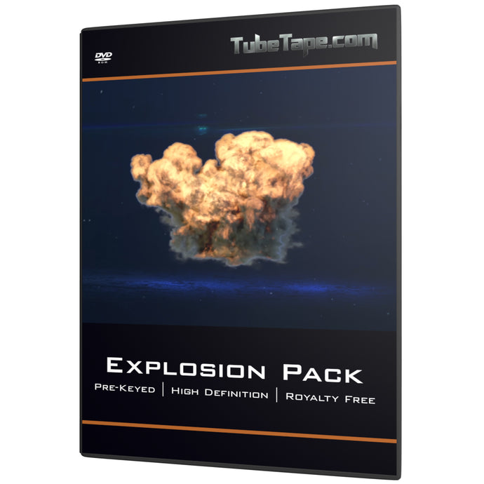 Explosion Pack - 20+ pre keyed elements