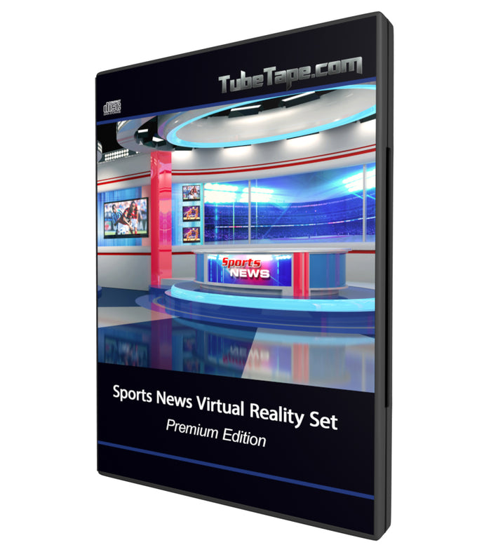 Sports Desk Virtual Background Set