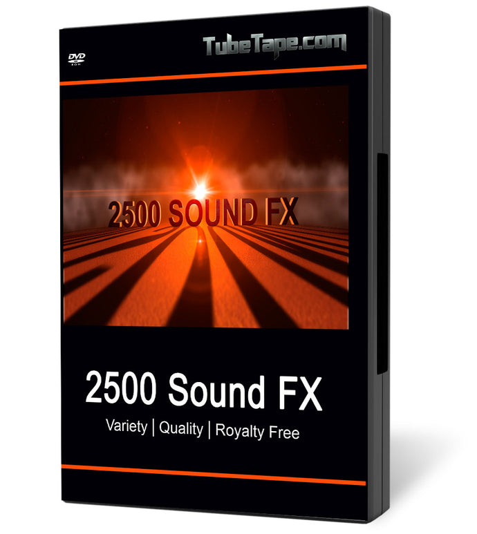 2500 Sound Effects - Download