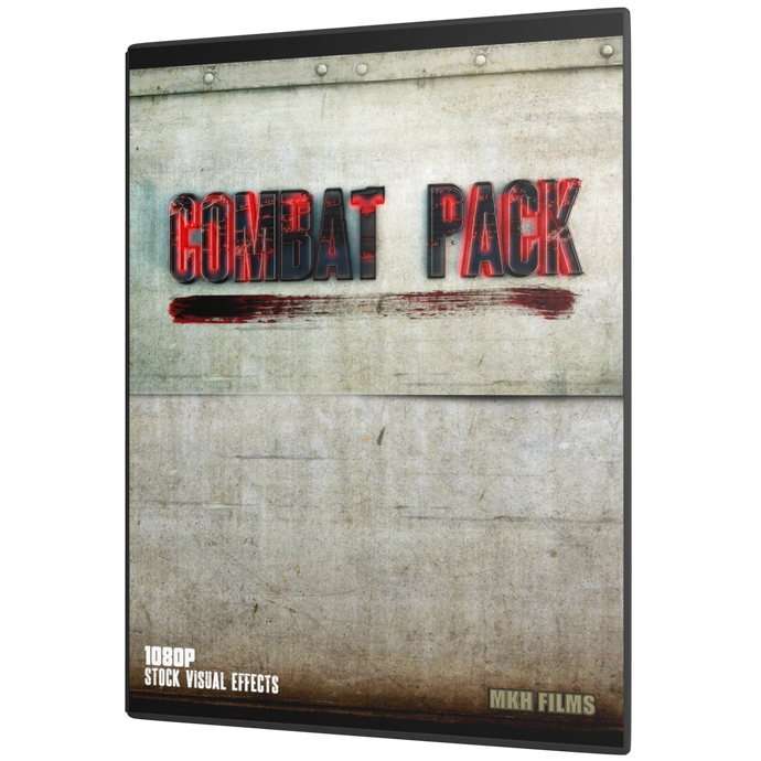 Combat Pack - Hundreds of CGI enhanced effects