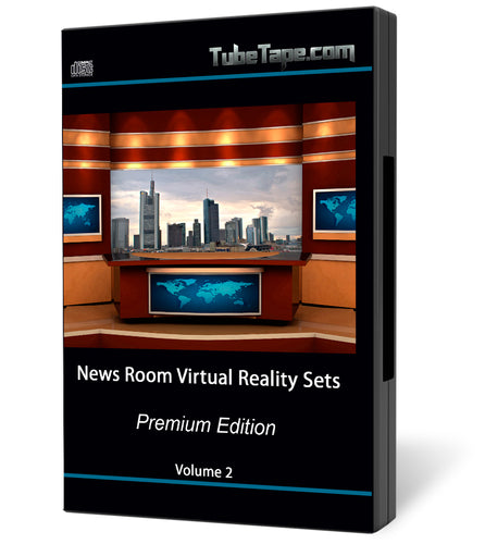 Virtual News Set Volume 2 - Download