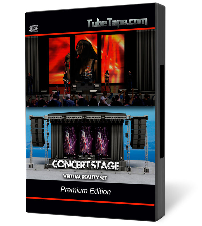 Concert Stage Virtual Set - Download