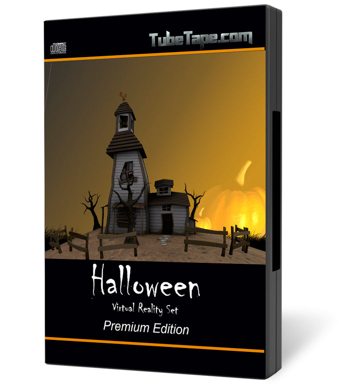 Scary / Halloween Virtual Set - Download