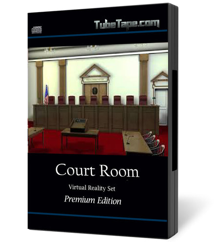 Court Room Virtual Set - Download
