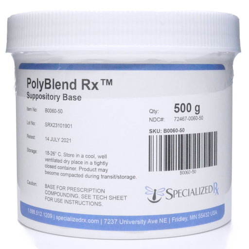 PolyBlend Rx™ Suppository Base